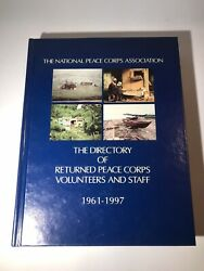 Vintage 1961-1997 Peace Corps Directory Returned Volunteers And Staff Hc