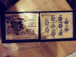 Rare Lewis And Clark Expedition 1804-1806 Map Coins Stamps Mint Collecteable