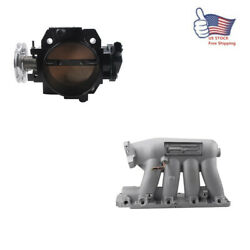 For 06-11 Civic Si K20z3 04-08 Acura Rsx Base Intake Manifold + Throttle Body Us