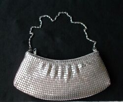 NWOT Beautiful Sequined Women#x27;s Evening Clutch Color Silver $24.95