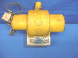 Vintage Mallory Rev-pol Transformer Yellow Competition Coil Ct31
