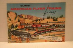 Gilbert American Flyer Trains For 1957 Catalogue Model Trains Guide Railroads