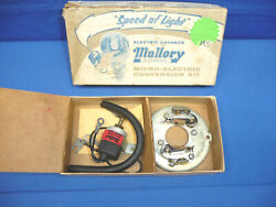 Vintage Nos Mallory Dual Point Mico-electric Conversion Kit 1959-69 Ford V8 Ct31