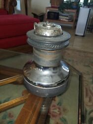 Harken 48 Two Speed Sailboat Winch Used. Serviced And In Good Working Order
