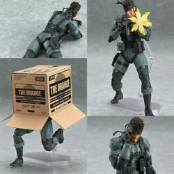 Metal Gear Solid Snake New Action Figure 15 Cm Pvc Collection 2021 Game Ps3 Ps5