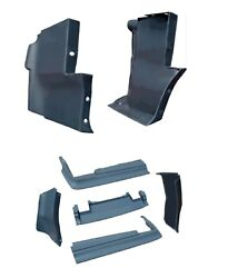 1976 - 1979 Cadillac Seville Complete 7-piece Front And Rear Bumper Filler Set