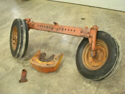 1962 Allis Chalmers D19 Tractor Wide Front End