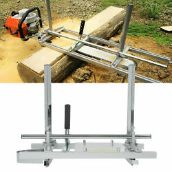 20-24 Chainsaw Guide Bar Chain Saw Mill Log Planking Lumber Portable