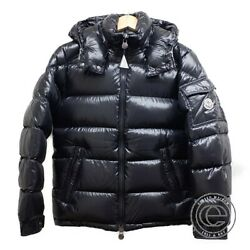 Moncler Maya Giubbotto Removable Hooded Down Jacket O Black