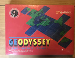 New Vintage Geodyssey The World Game From Geolearning 1987
