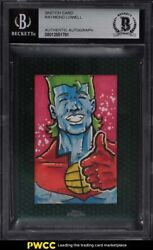 2015 Topps Chrome Star Wars Perspective Captain Planet Sketch Card 1/1 Bas