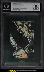 2015 Topps Chrome Star Wars Perspectives Neo The Matrix Sketch Card 1/1 Bas