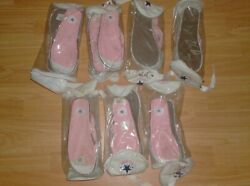 Sandals Vintage Old School Converse All Star Chuck Taylor - Pack Of 7 - New Nos