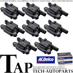 Acdelco Double Platinum Spark Plug + Engine Ignition Coil For Chevrolet Express