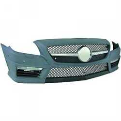 Sport Bumper Front For Mercedes Slc R172 Year 11- With Pdc Sra