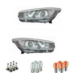 Halogen Headlight Set H7/h7/h7 For Kia Ceeand039d Sports Car Including Lamps