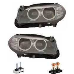 Xenon Headlight Set D1s Black For Bmw 5er Touring Including Lamps