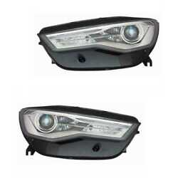 Xenon Headlight Set Left And Right Headlight D5s For Audi A6