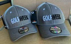 Golf Week Quality Hats By Pukka 2 New
