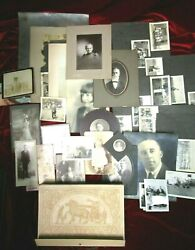 Vintage Lot Of Photos Photography 150 Plus Cowboys, Family Photos, Post Cards