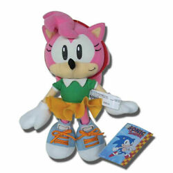 Sonic Amy Plush 9 - New Authentic. In Stock