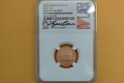 2017 S 1c First W Lincoln Penny Ngc Sp70 Rd First Day Issue Lyndall Bass Signed