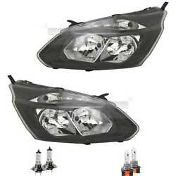 Headlight Set Left And Right H7/h15 For Ford Tourneo Custom Bus Incl. Lamps
