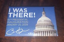 I Was There Obama Inauguration Daytime Rectangle Button - 1-3/4 X 2-3/4