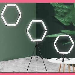Led Ring Light With Stand For Youtube Tiktok Makeup Video Live Phone Selfie
