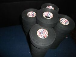 Black Trainers Tape 54 Rolls 1x20yds.  First Quality