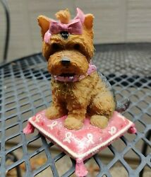 Hamilton Collection Hope Paws For The Cause Yorkshire Terrier