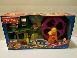 Fisher Price Little People Musical Ferris Wheel Toy Figure Playset