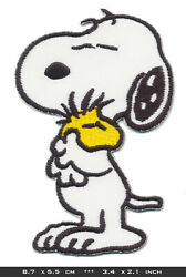 SNOOPY Patch Embroidered Sew Iron The Peanuts Comic