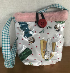 2 Red Hens Kids Tote Bag Fleece Lined And Washable Exterior $6.00