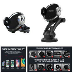 Infrared Phone Holder Qi Wireless Charger Car Dashboard Air Vent Stand Cradle
