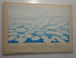 Georgia Oand039keeffe 1971 Save Our Planet Color Offset Lithograph Poster Signed