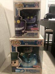 Mad Hatter And Cheshire Cat Funko Pop Bundle