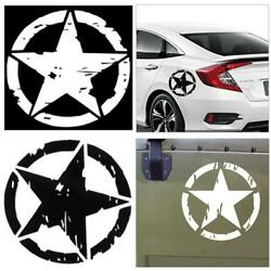 5pcs 1515cm Star Graphic Decals Motorcycle Vinyl Car-styling Car Stickers U S