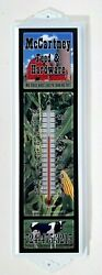 Mccartney Feed And Hardware Indoor Outdoor Hanging Wall Thermometer
