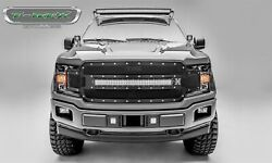 T-rex Grilles 6315711 Torch Series Led Light Grille Fits 18-20 F-150