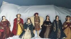 Niada Doll Artist Grace Lathrop Henry Vlll And His 6 Wives Posable Figures