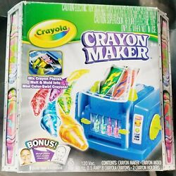 2011 Crayola Crayon Maker Melt And Mold Swirl Color Kit Ages 8+ New In Box