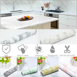 Marble Contact Paper Self Wallpaper Pvc Peel And Stick Kitchen Wall Sticker Decor