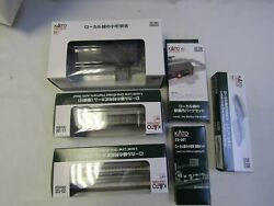 Kato N Scale 6 Pc Local Line Station Set 23-241,001,133,134,135,136