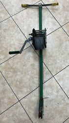 Greenlee Cable Puller 766 M5, 2-speed Hand Crank Winch Wire Puller