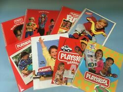 Big Lot Playskool Toy Catalogs- 9 In All 80s, 90s, 00s