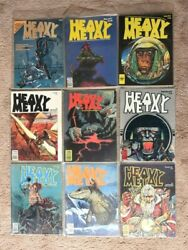 Vintage Heavy Metal Magazine Collection From 1977,78,79,80, And 81 35 Total