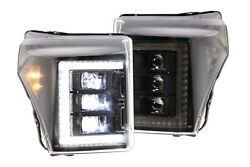 Morimoto Xb Led Projector Headlights For 2011-2016 Ford F-450 Super Duty