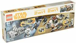 Lego Star Wars 66596 Super Battle Pack 2-in-1 75206 Jedi, Clone Troopers And 752