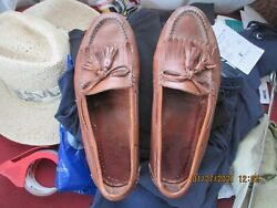 Cole Haan Country Custom Craft Mens Saddle Tassel Loafers 10.5 D